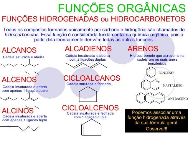 Estudo funcoes organicas