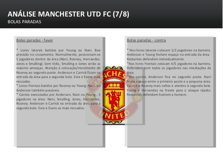 Estudo Manchester United FC Slide 7