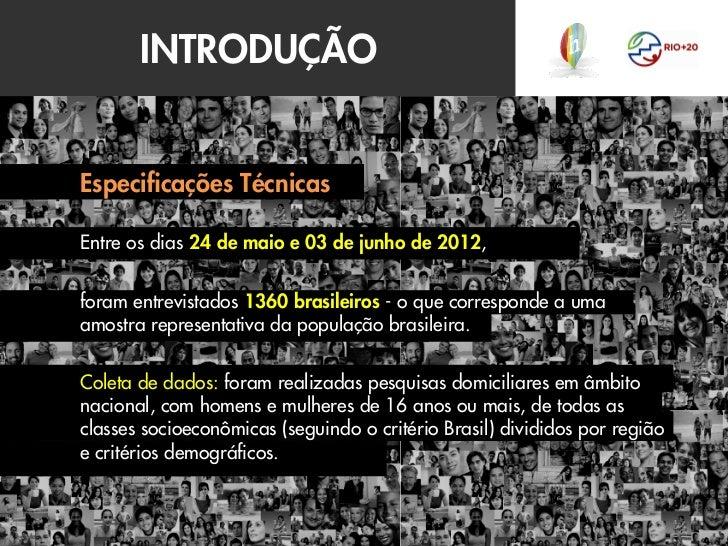 Estudo Oficial Hello Research Rio+20 e Você Slide 2