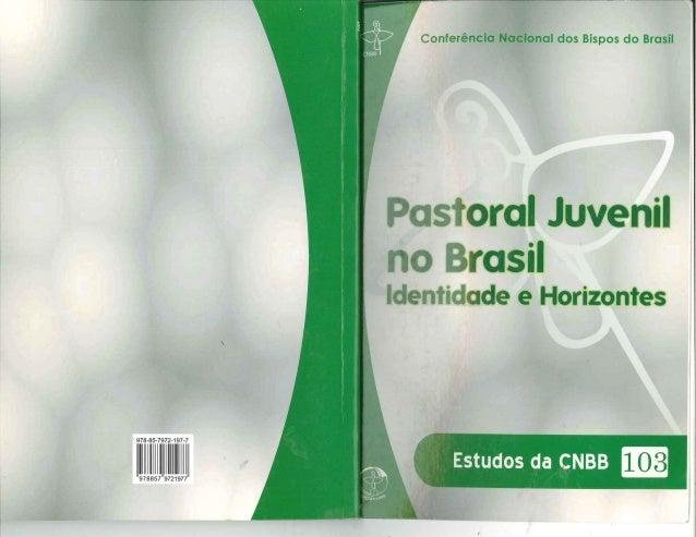 Estudos da CNBB 103 Pastoral Juvenil no Brasil