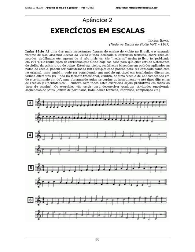"""MARCELO MELLO – Apostila de violão e guitarra - Vol 1 (2010) http://www.marcelomelloweb.cjb.net/ 56 ! """"#$%& ' ( ( ( ) (*+ ..."""