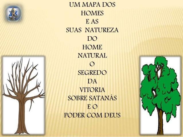 UM MAPA DOS  HOMES  E AS  SUAS NATUREZA  DO  HOME  NATURAL  O  SEGREDO  DA  VITORIA  SOBRE SATANÁS  E O  PODER COM DEUS
