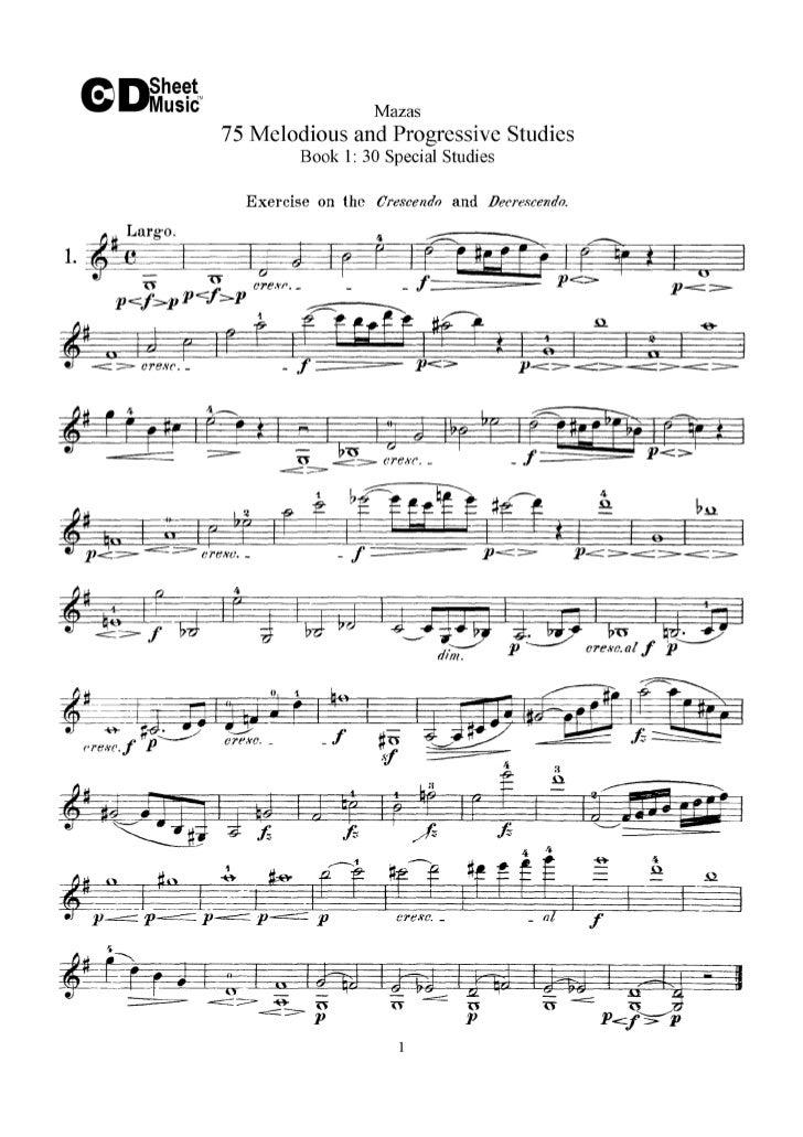Estudos pregressivos livro i   mazas (www.sheetmusic-violin.blogspot.com)