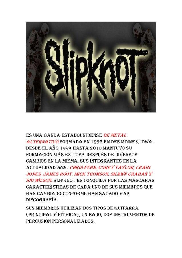 Es una banda estadounidense de metal alternativo formada en 1995 en Des Moines, Iowa. Desde el año 1999 hasta 2010 mantuvo...