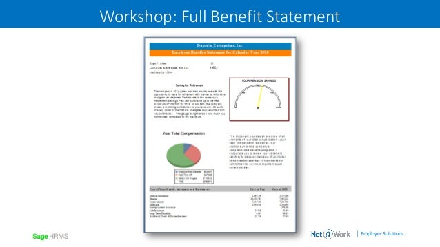 creating compensation and benefit statements with crystal hidden pay
