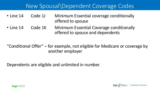 Affordable care act aca reporting with my workforce - Minimum essential coverage plan design ...
