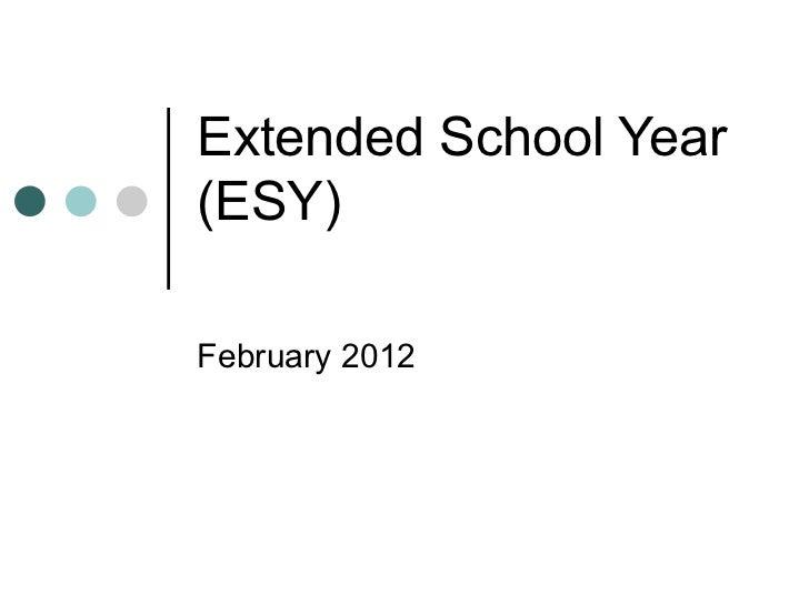Esy turn around training feb 2012final