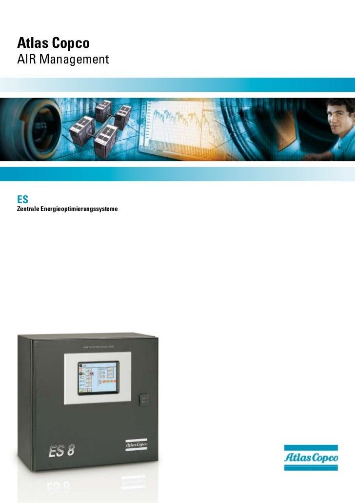 Atlas CopcoAIR ManagementESZentrale Energieoptimierungssysteme