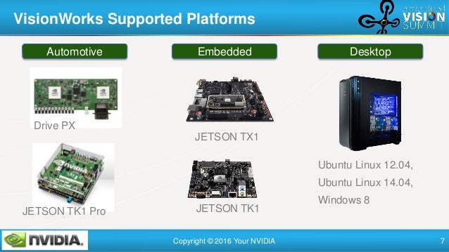 """""""NVIDIA VisionWorks, a Toolkit for Computer Vision,"""" a Presentation from NVIDIA"""
