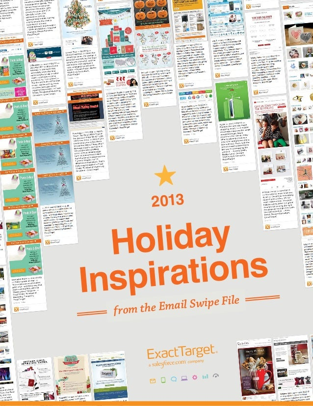 2013 Holiday Inspirations from the Email Swipe File