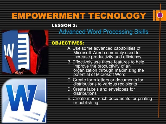 """the helpful features of microsoft word for increasing efficiency in the workplace Microsoft word tips and tricks to increase productivity  """"tables are among the most often used features of microsoft word ms-word offers a great deal of options to design and manage the tables in a document  in a word table i want to increase the date by 1 day in each cell so i type the start date and the next cell will be that date."""