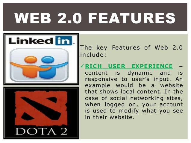 What is web 2. 0 definition, advantages and features.