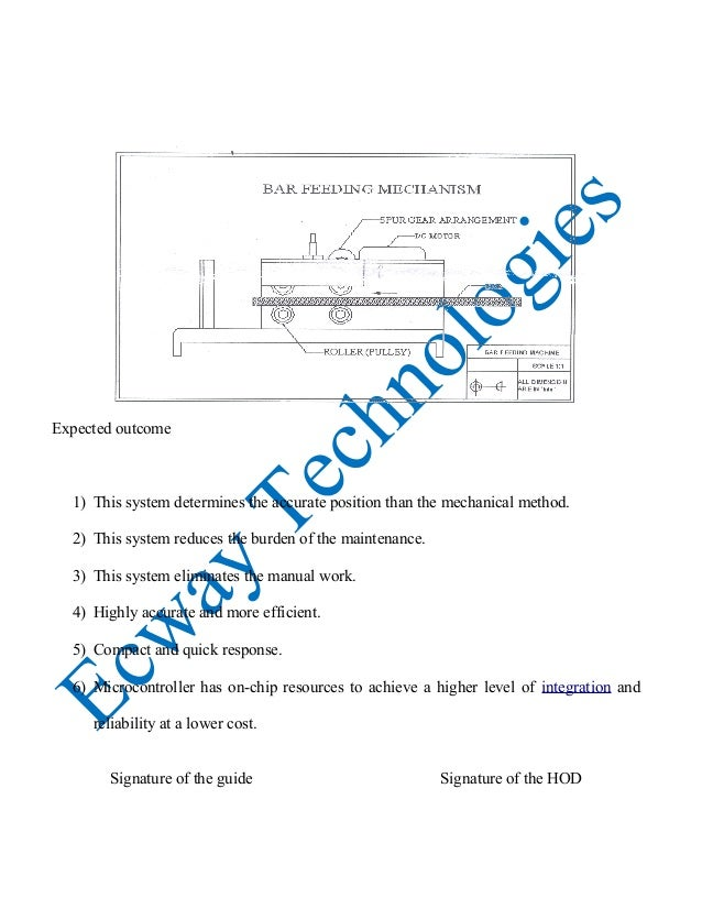 Et0006 automatic bar feeding mechanism for cutting machine