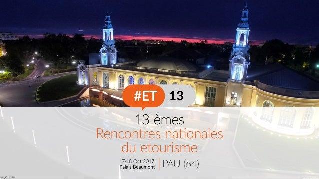 COMPTE-RENDU DES 24 ATELIERS DES #ET13 RÉALISÉS PAR LES MASTER 2 AGEST BORDEAUX