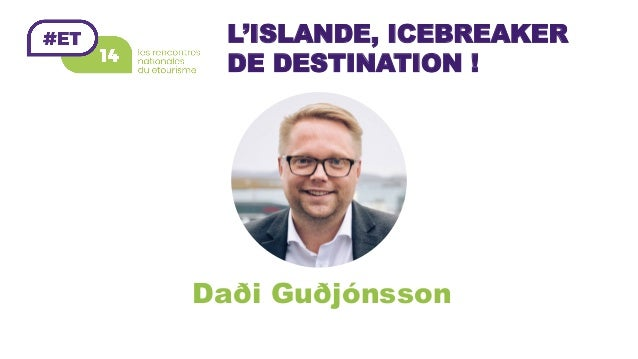 L'ISLANDE, ICEBREAKER DE DESTINATION ! Daði Guðjónsson