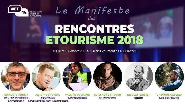 FRANÇOIS PERROY EMOTIO TOURISME AGITATEURS GUILLAUME CROMER ID TOURISME ANTOINE CHOTARD AQUITAINE DÉVELOPPEMENT INNOVATION...