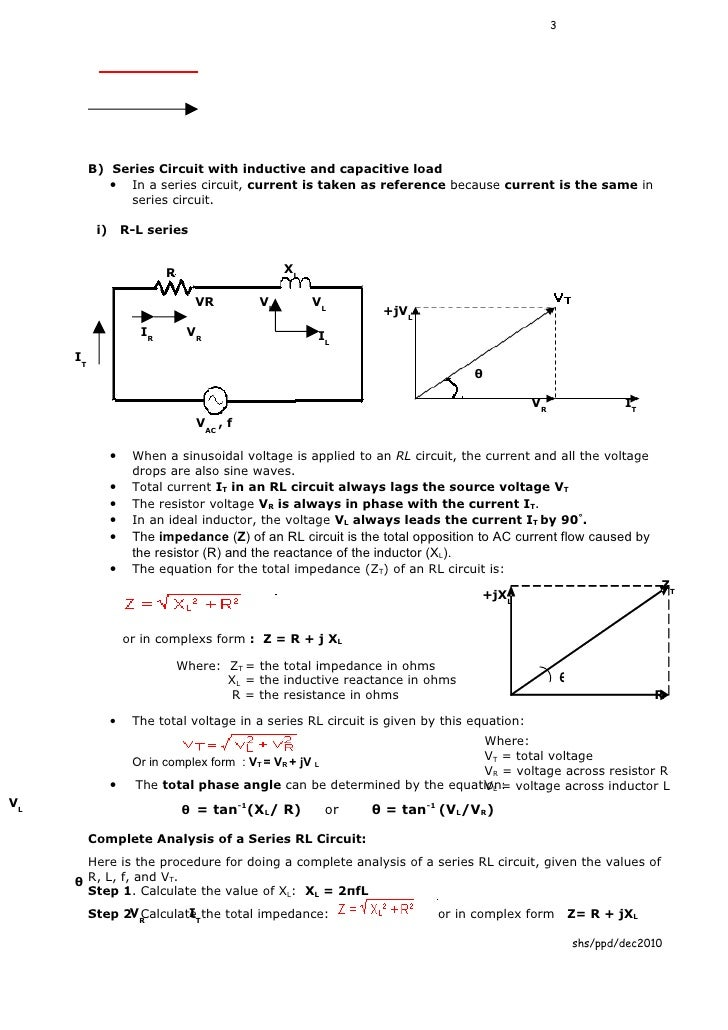 Et201 chapter3 sinusoidal steady state circuit analysis