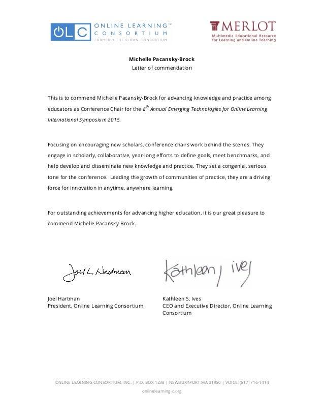 online letter