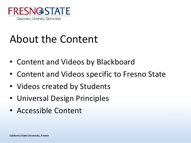My Fresno State