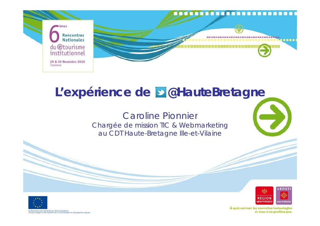 L'expérience de     éi                   @HauteBretagne                          @             Caroline Pi             C  ...