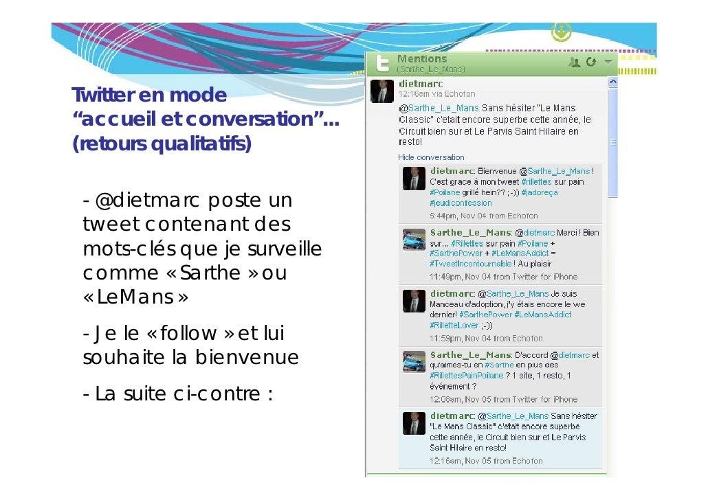 """Twitter en mode""""accueil et conversation""""...(retours qualitatifs)( t         lit tif ) - @di t   @dietmarc poste un        ..."""