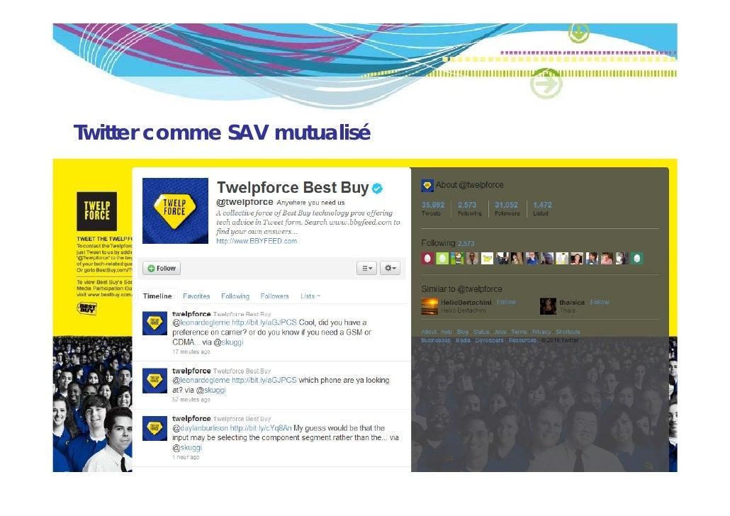 Twitter comme SAV mutualisé