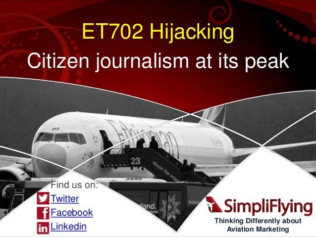 Ethiopian Airlines Hijack to Geneva - Social Media Crisis