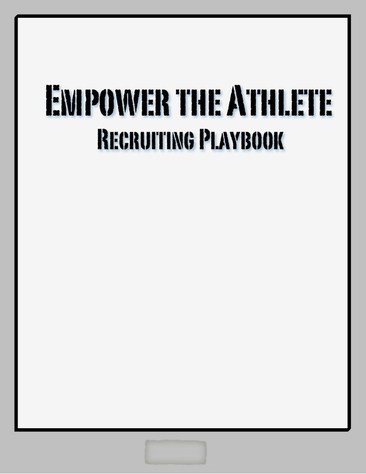 Empower the Athlete   Recruiting Playbook