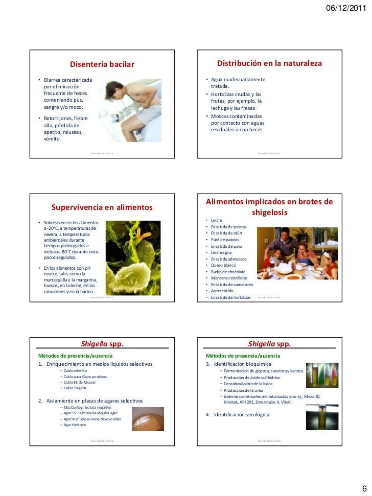 06/12/2011                 Disentería bacilar                           Distribución en la naturaleza• Diarrea caracteriza...