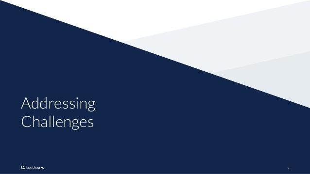 99 Addressing Challenges