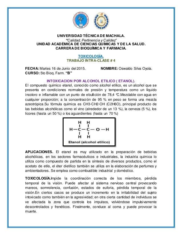 """UNIVERSIDAD TÉCNICA DE MACHALA. """"Calidad, Pertinencia y Calidez"""" UNIDAD ACADÉMICA DE CIENCIAS QUÍMICAS Y DE LA SALUD. CARR..."""