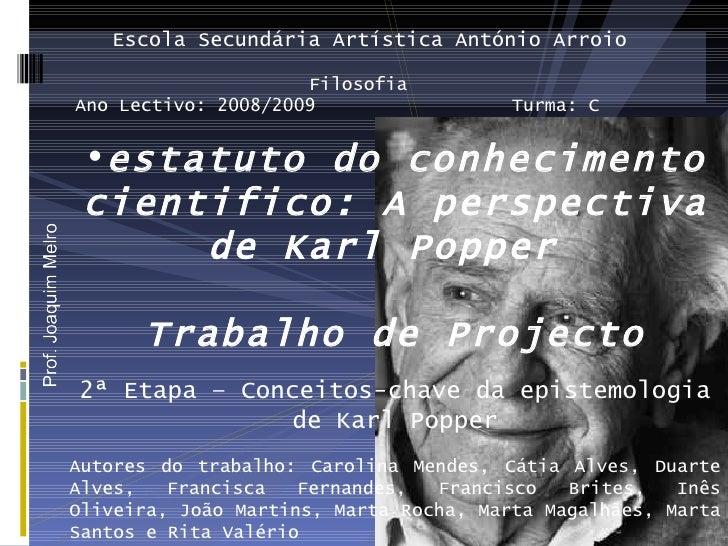 Escola Secundária Artística António Arroio                       Filosofia Ano Lectivo: 2008/2009                  Turma: ...