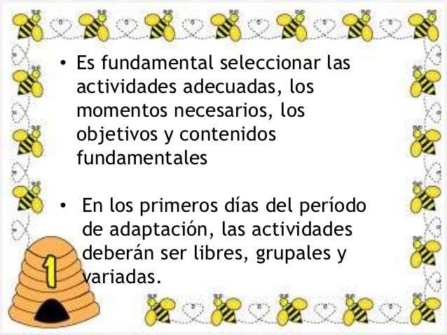 Etapa de adaptacion por lorena galarza for Adaptacion jardin infantil