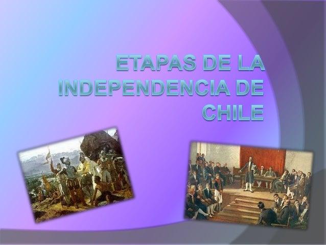 La historiografía clásica chilena ha identificado en el proceso político y socialque terminó con la independencia de nuest...