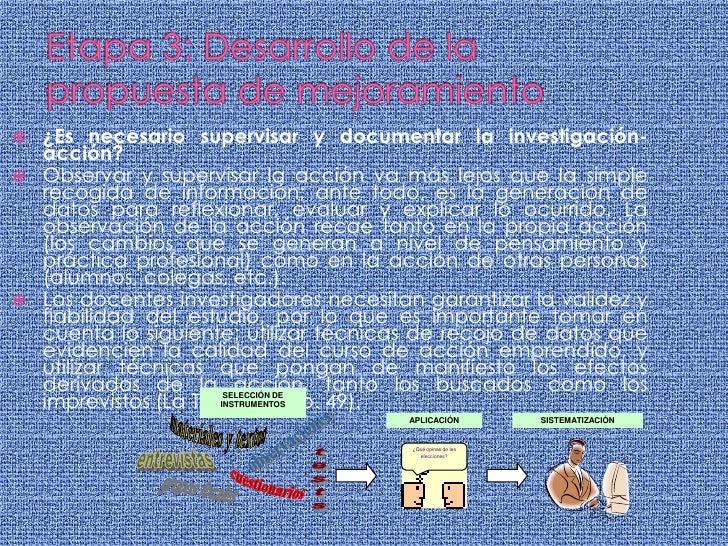SELECCIÓN DE<br />INSTRUMENTOS<br />APLICACIÓN<br />SISTEMATIZACIÓN<br />materiales y textos<br />observaciones<br />¿Qué ...