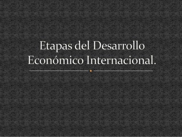  Es la rama de la economía ocupada de los aspectos económicos y procesos de desarrollos en países de bajos ingresos. Apli...