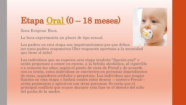 Teoria psicosexual de freud etapa oral