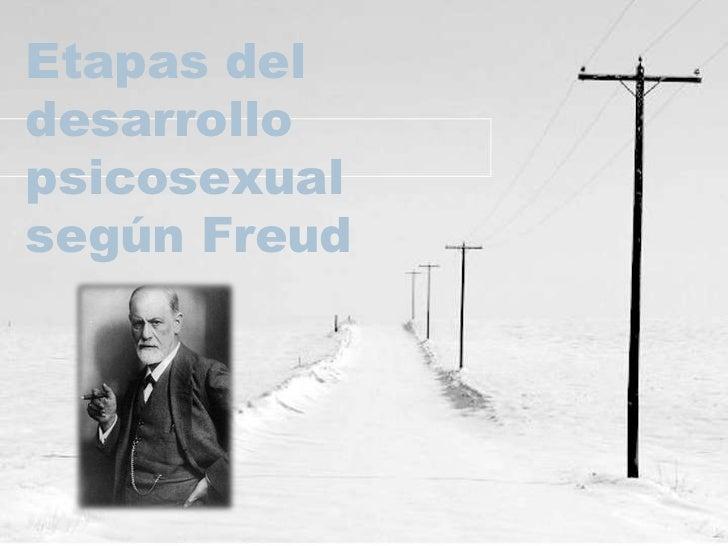 Etapas del desarrollo psicosexual según Freud<br />