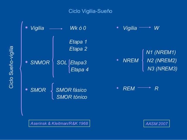 Ciclo Vigilia-Sueño                         Vigilia            Wk ó 0                  Vigilia      W                   ...