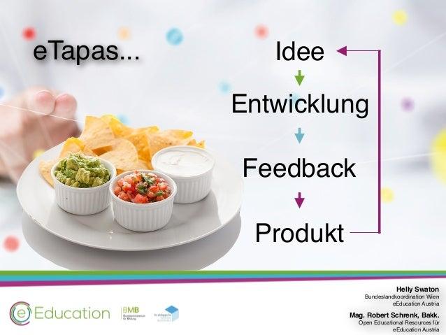 eTapas erstellen - kann ich das auch? Slide 3
