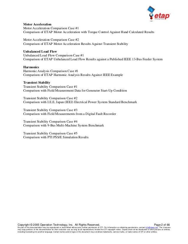 Skm Etap & Edsa Power System Analysis Tutorials