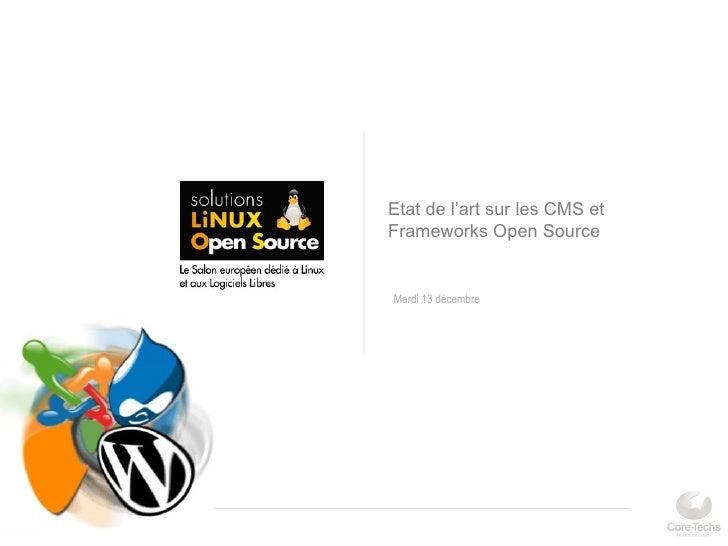 Salon solutions linux 2012 etat de l 39 art sur les for Salon open source