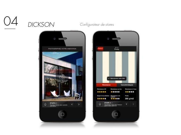 04   DICKSON   Configurateur de stores