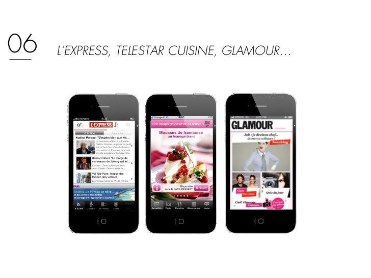 06   L'EXPRESS, TELESTAR CUISINE, GLAMOUR…