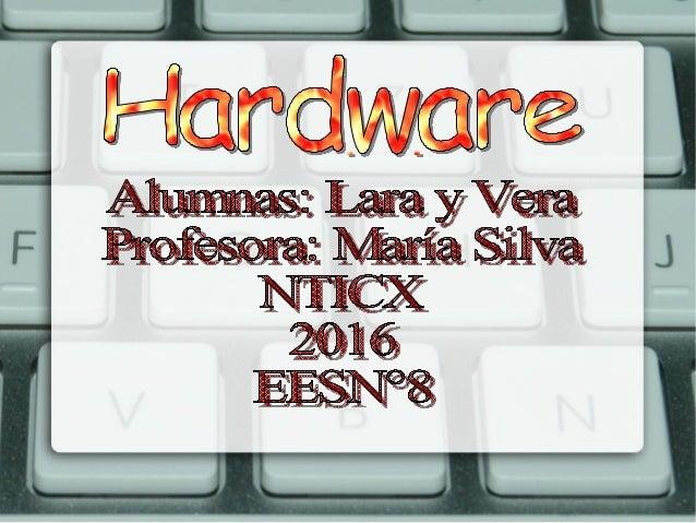 El Hardware es el elemento físico de un sistema informático, es decir, todos los materiales que lo componen, como la propi...