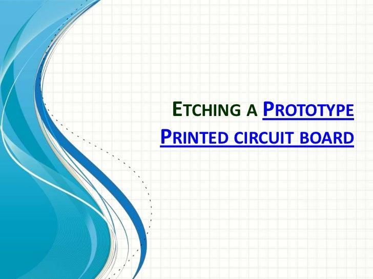 Circuit Board Etching Printed Board Manufacturer Printed Circuit Board
