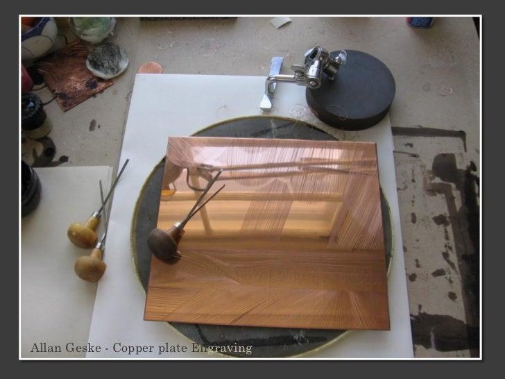 Allan Geske - Copper plate Engraving