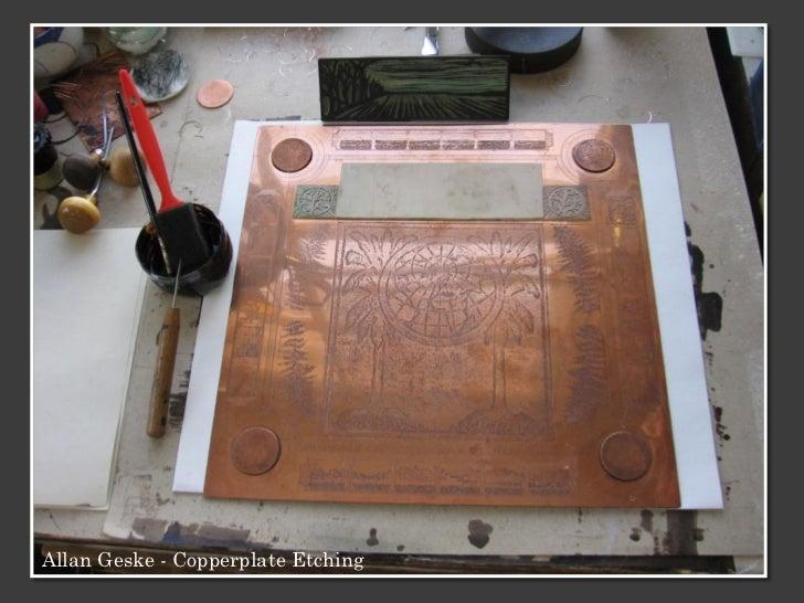 Allan Geske - Copperplate Etching