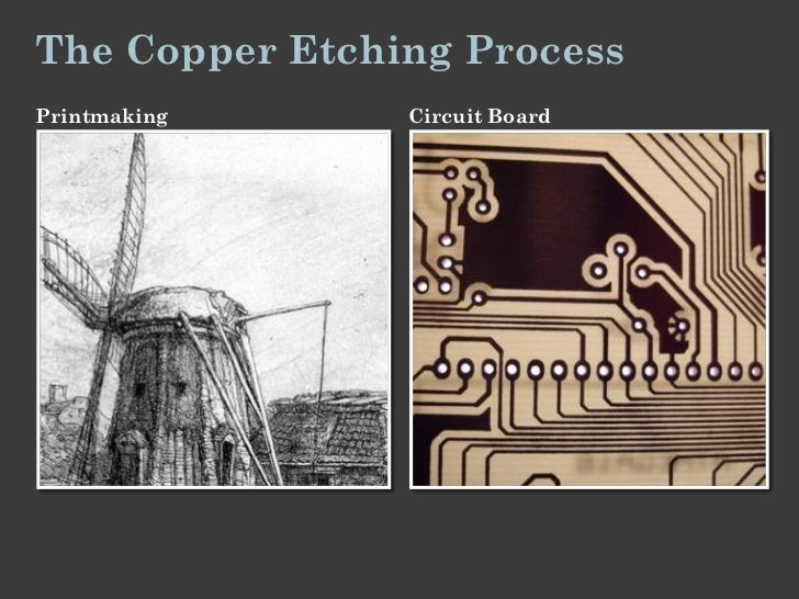 The Copper Etching ProcessPrintmaking     Circuit Board