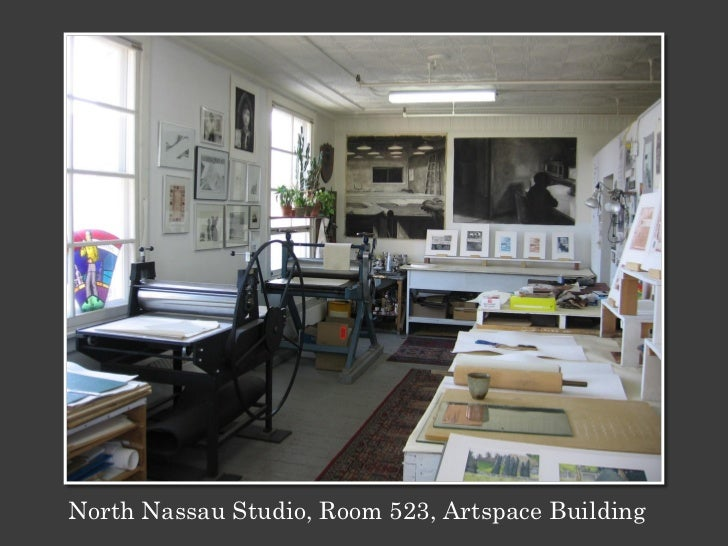 North Nassau Studio, Room 523, Artspace Building